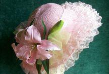 Flower girls wedding hats