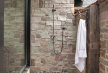 Stone living / Stone accent walls / by Casey Johnson