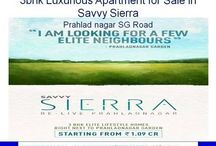 3bhk Apartment for sale in Savvy Sierra Prahladnagar SG Road