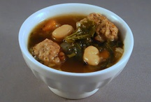 delectable soups n stews / hearty soups and stews, or cold and light, always delicious