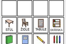 Piktogramy, pracovní listy
