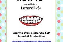 Speech- lisp / Speech therapy activities for a lisp.