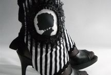 shabby couture / shabby chic gothic inspired clothing