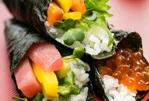 Temaki / sushi