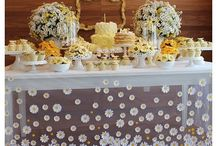 daisy party decorations