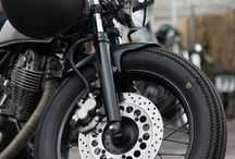 Born to ride / Classic Motorbike enthusiast