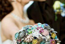Brooch bouquets - colour