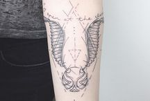 Tatuaggi di harry potter