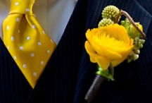 Boutonnieres / Wonderful ideas for all the fellows.