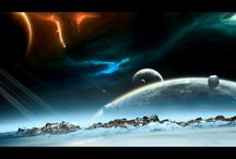 Vesmír / Budou zde věci týkající se vesmíru, podívat se dál, než na měsíc.