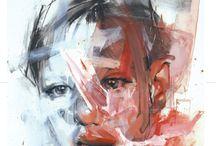 Portrait painting...