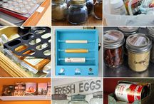 Organization Ideas / by Gina