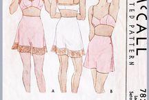 lingerie 1930s