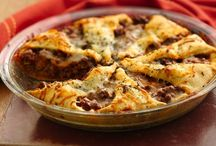 dinners in a pie pan