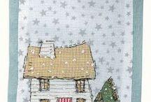 textilné koláže