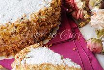 torta napoletana a le nocciole e crema