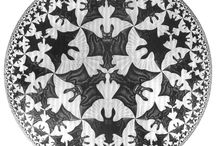 Escher tile pattern idea