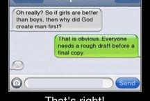 Text humour