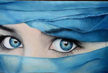 ocean blue eyes..by Sondos Ragh