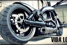 "V-Rod Harley ""Gris Bike"" Designed by Vida Loca Choppers / V-Rod Harley Gris Bike Designed by Vida Loca Choppers in 2011"