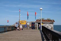 Ocean City Fishing Pier | Ocean City MD / Welcome to the Ocean City Fishing Pier, located off the south end of the Boardwalk, behind the Jolly Roger Amusements.  Great view up the coast of all the beautiful OC beach, and south to the OC Inlet...  #OCFishing #ocmd