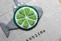 Applique / Applique designs - adding a touch of fun to sewing. Great way to embellish sewing projects and make them special.