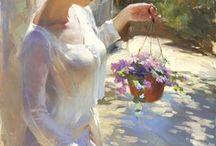 Paintings: Beautiful Women