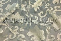 Organza Linens / Different styles of Organza fabrics