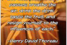 Henry David Thoreou