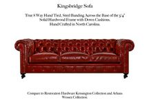 Kingsbridge / The Kingsbridge Tufted Leather Collection by Casco Bay Furniture...