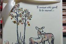 Deer/wildlife card