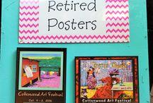 Retired Posters - Cottonwood Art Festival