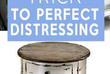 The Trick to Distressing