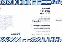 Gio Ponti: l'infinito blu / Per la prima volta in una mostra e raccontati in un libro gli schizzi per far rivivere la lezione e la creatività del genio milanese, fautore del design industriale e propulsore dell'artigianato di altissima qualità.