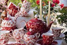Tea Pots/ Cups