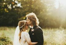 Golden Hour Wedding Photography / Golden hour wedding photography inspiration