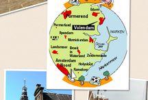Edam-Volendam-Marken-Monnickendam/Holland