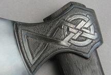 Blade, Axe, Steel