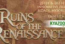 KyaZoonga.com: Buy Tickets for Ruins of the Renaissance, Bangalore