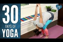 Yoga with Adrienne / 30 days challenge