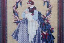 Lavender & Lace punto croce