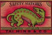 Matchstick labels