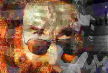 Jerry Garcia Pop Art Canvas