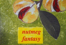Hello world! These are NUTMEGS, the spice you love in your egg nogs / nutmeg spice / by jesma archibald   (nutmegs)