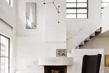 Fireplaces / Inspiration to build our own fireplace