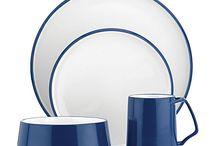 Blue & White Dinnerware