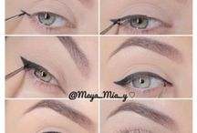 Make-up and more / Eyeliner wings