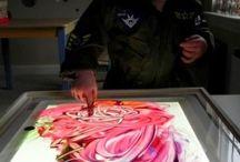 Art Room - Printmaking