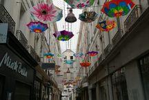 les parapluies de Carpentras