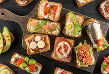 buffet a casa con finger food